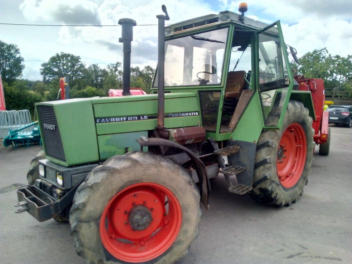 vente fendt 611 ls occasion tracteur agricole scar. Black Bedroom Furniture Sets. Home Design Ideas
